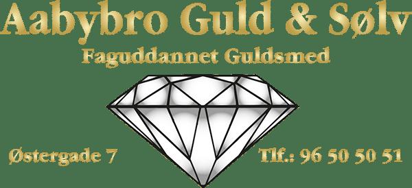 Aabybro guld og sølv logo